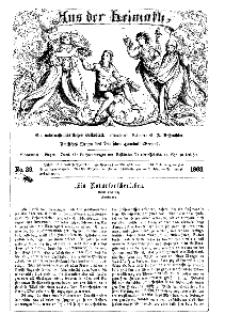 Aus der Heimath. Ein naturwissenschaftliches Volksblatt, 1863, No. 39.