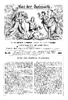 Aus der Heimath. Ein naturwissenschaftliches Volksblatt, 1863, No. 40.