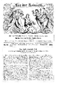 Aus der Heimath. Ein naturwissenschaftliches Volksblatt, 1863, No. 42.