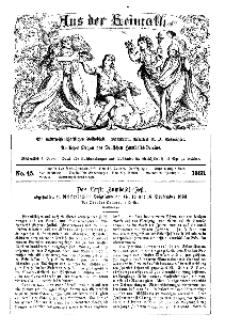 Aus der Heimath. Ein naturwissenschaftliches Volksblatt, 1863, No. 45.
