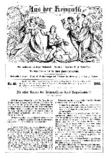 Aus der Heimath. Ein naturwissenschaftliches Volksblatt, 1863, No. 48.
