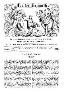 Aus der Heimath. Ein naturwissenschaftliches Volksblatt, 1863, No. 49.