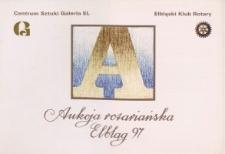 Aukcja Rotariańska - katalog, 1997