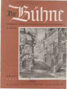Die Bühne. Jg. 3, 1937, H. 1/2