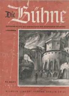 Die Bühne. Jg. 3, 1937, H. 21