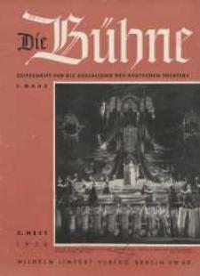 Die Bühne. Jg. [4], 1938, H. 3