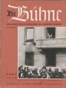 Die Bühne. Jg. [4], 1938, H. 4