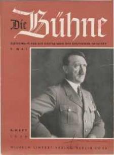 Die Bühne. Jg. [4], 1938, H. 5