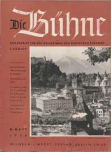 Die Bühne. Jg. [4], 1938, H. 8