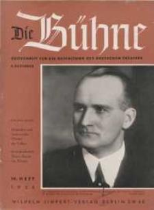 Die Bühne. Jg. [4], 1938, H. 14