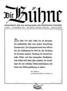 Die Bühne. Jg. [7], 1941, H. 3