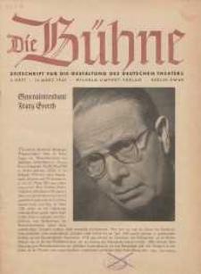 Die Bühne. Jg. [7], 1941, H. 5