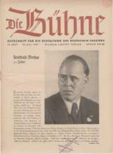 Die Bühne. Jg. [7], 1941, H. 10