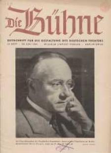 Die Bühne. Jg. [7], 1941, H. 12