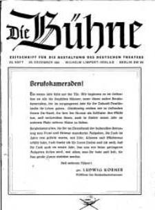 Die Bühne. Jg. [7], 1941, H. 24
