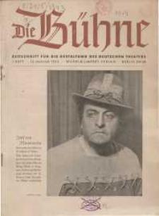 Die Bühne. Jg. [9], 1943, H. 1
