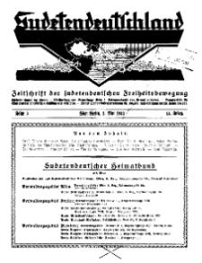 Sudetendeutschland : Zeitschrift für die sudetendeutsche Bewegung im Auslande, 1933, H. 5