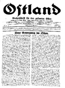 Ostland : Wochenschrift für den gesamten Osten, Jg. 15, 1934, Nr 2.
