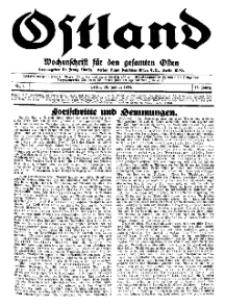 Ostland : Wochenschrift für den gesamten Osten, Jg. 15, 1934, Nr 4.