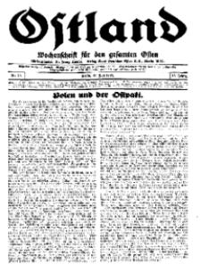 Ostland : Wochenschrift für den gesamten Osten, Jg. 15, 1934, Nr 29.