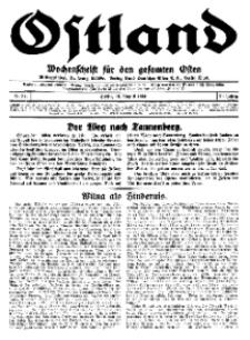 Ostland : Wochenschrift für den gesamten Osten, Jg. 15, 1934, Nr 32.