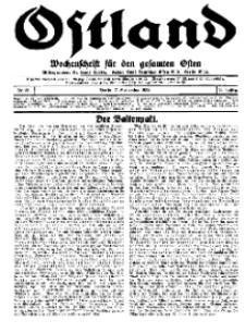Ostland : Wochenschrift für den gesamten Osten, Jg. 15, 1934, Nr 36.