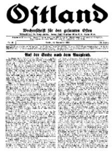 Ostland : Wochenschrift für den gesamten Osten, Jg. 15, 1934, Nr 46.