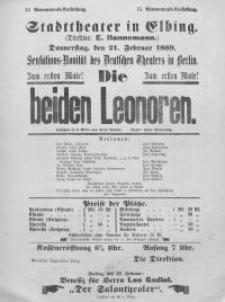 Die beiden Leonoren - Paul Lindau