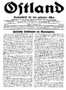 Ostland : Wochenschrift für den gesamten Osten, Jg. 15, 1934, Nr 49.