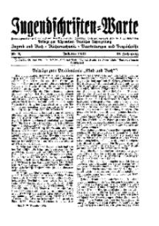 Jugendschriften-Warte : Beilage zur Allgemeinen Deutschen Lehrerzeitung, 38. Jg. 1933, Nr 2.