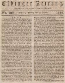 Elbinger Zeitung, No. 124 Sonnabend, 17. Oktober 1846