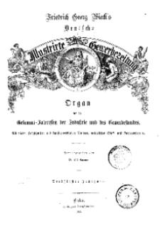 Deutsche Illustrirte Gewerbezeitung. Jahrg. XXX. (Inhalts-Verzeichniß)
