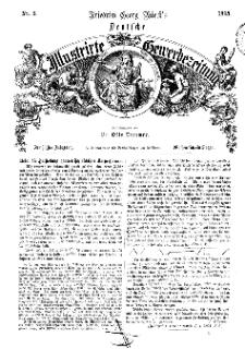 Deutsche Illustrirte Gewerbezeitung, 1865. Jahrg. XXX, nr 3.
