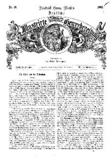 Deutsche Illustrirte Gewerbezeitung, 1865. Jahrg. XXX, nr 19.