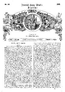 Deutsche Illustrirte Gewerbezeitung, 1865. Jahrg. XXX, nr 34.