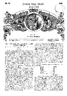 Deutsche Illustrirte Gewerbezeitung, 1865. Jahrg. XXX, nr 42.