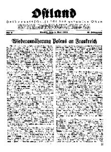 Ostland : Halbmonatsschrift für den gesamten Osten, Jg. 16, 1935, Nr 9.