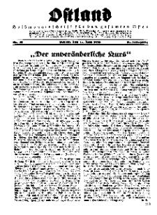 Ostland : Halbmonatsschrift für den gesamten Osten, Jg. 16, 1935, Nr 12.