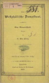 Das Westphälische Dampfboot : eine Monatsschrift, 3. Jg. 1847, [H. 4].