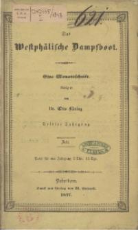 Das Westphälische Dampfboot : eine Monatsschrift, 3. Jg. 1847, [H. 7].