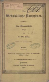 Das Westphälische Dampfboot : eine Monatsschrift, 3. Jg. 1847, [H. 12].