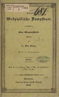Das Westphälische Dampfboot : eine Monatsschrift, 4. Jg. 1848, [H. 2].