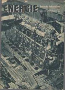 Energie - Technische Fachzeitschrift, 17. Jg. 1938, H. 2.