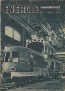Energie - Technische Fachzeitschrift, 17. Jg. 1938, H. 7.