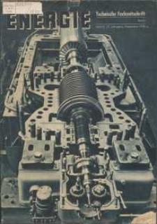 Energie - Technische Fachzeitschrift, 17. Jg. 1938, H. 12.