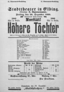 Höhere Töchter - Wilhelm Mannstädt, R. Schott