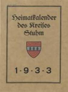 Heimatkalender des Kreises Stuhm, 3. Jg. 1933