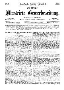 Deutsche Illustrirte Gewerbezeitung, 1868. Jahrg. XXXIII, nr 3.