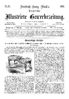Deutsche Illustrirte Gewerbezeitung, 1868. Jahrg. XXXIII, nr 18.