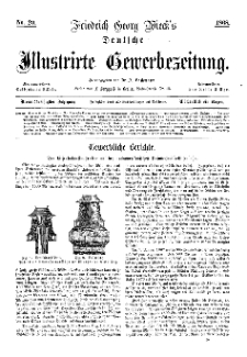 Deutsche Illustrirte Gewerbezeitung, 1868. Jahrg. XXXIII, nr 20.